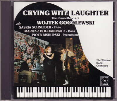CD Cover Crying with Laughter