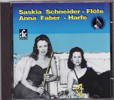 CD Cover  Saskia Schneider und Anna Faber